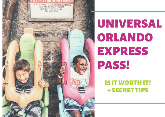The Universal Orlando Express Pass!  Is it Worth it + How to Save Money!