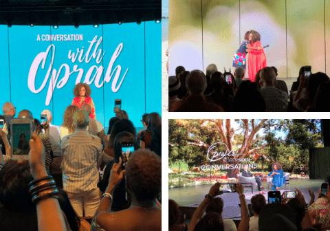 Oprah on the Girls' Getaway Cruise