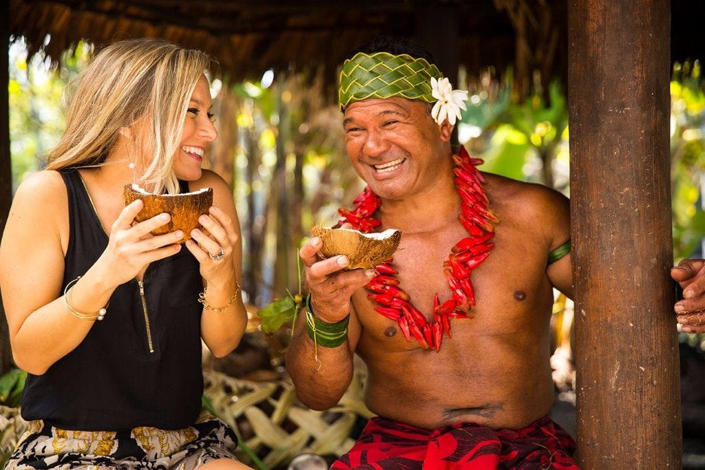Polynesian cultural center North Shore Oahu