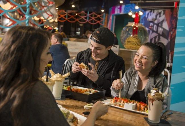 universal citywalk restaurants