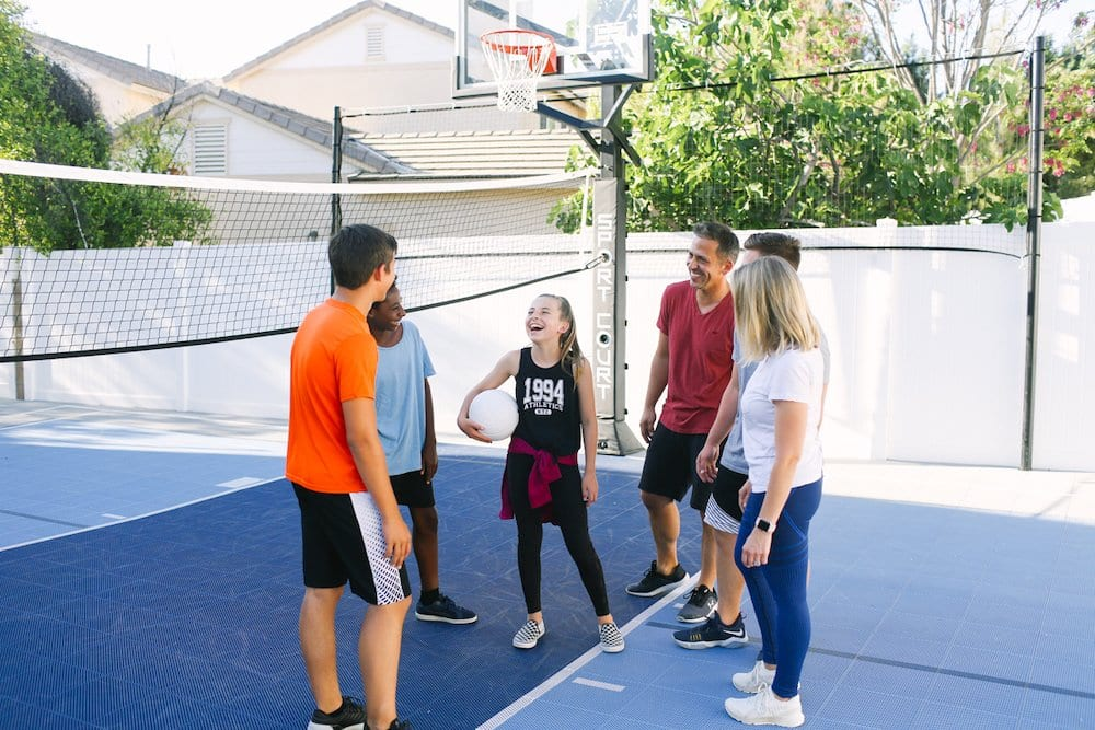 5 Reasons Our NEW Sport Court Backyard Court was the BEST Decision EVER!!!