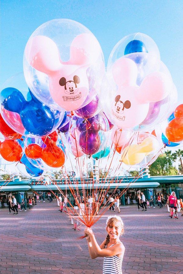 Disneyland Mickey Balloons