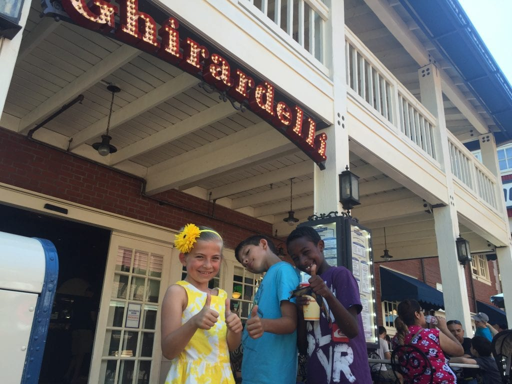 Planning a Disneyland Trip - Free Chocolate