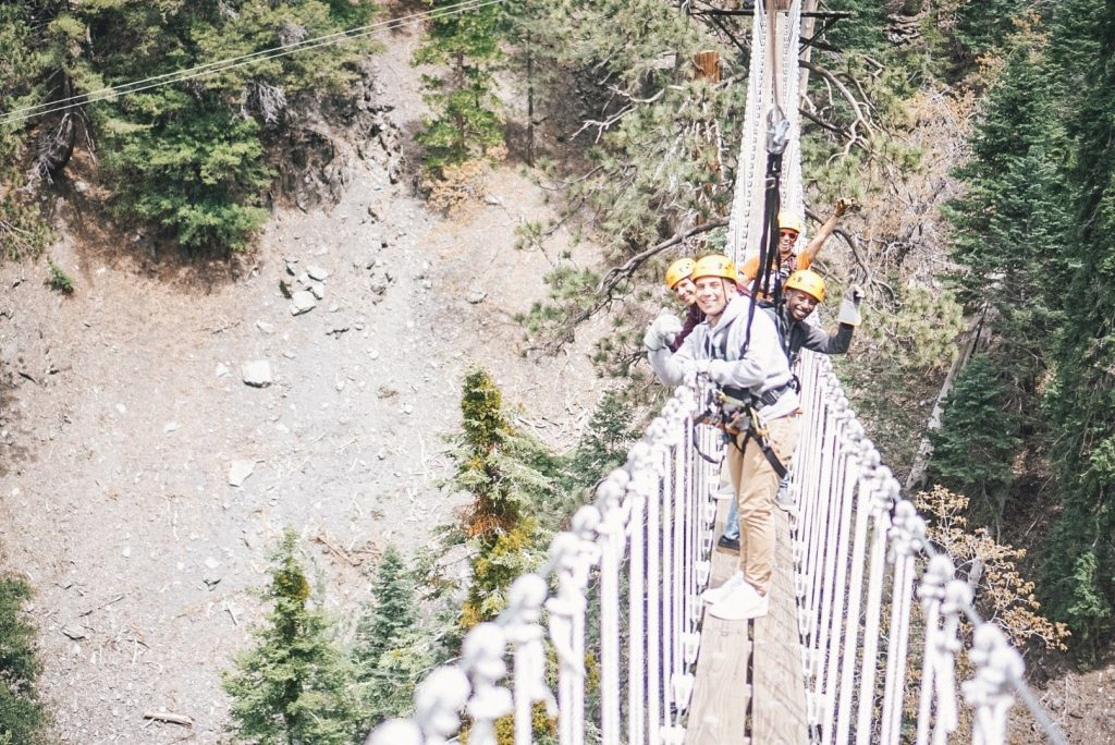 Indiana Jones Style Bridges Pacific Crest Ziplines
