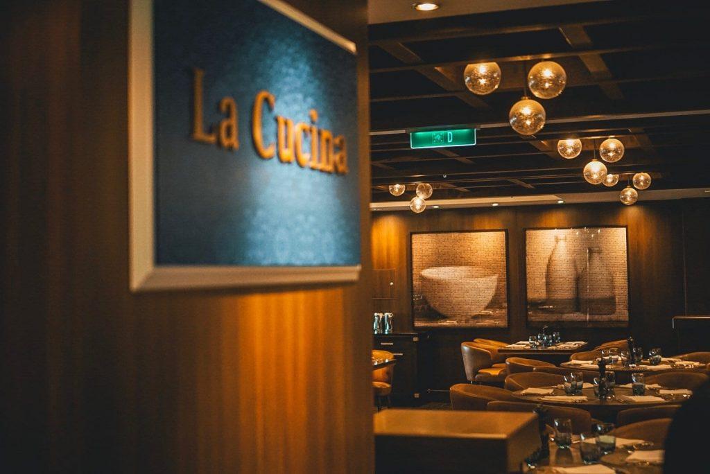Norwegian Joy Restaurants - La Cucina
