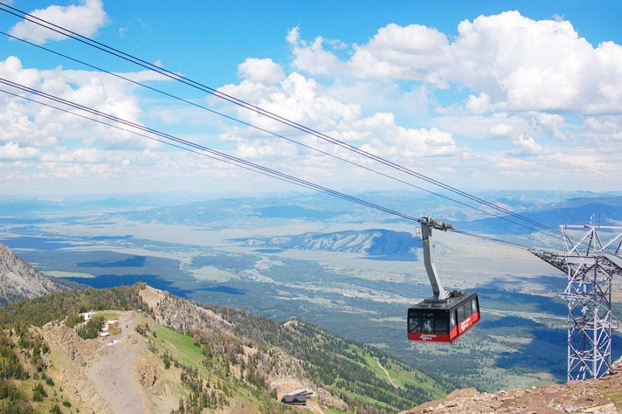 Riding the Tram at Jackson Hole e1559110944932