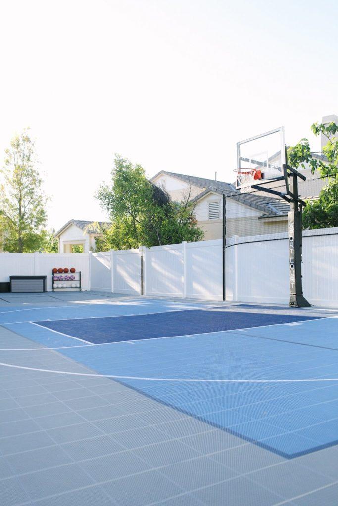 Outdoor Basketball Court from Sport Court