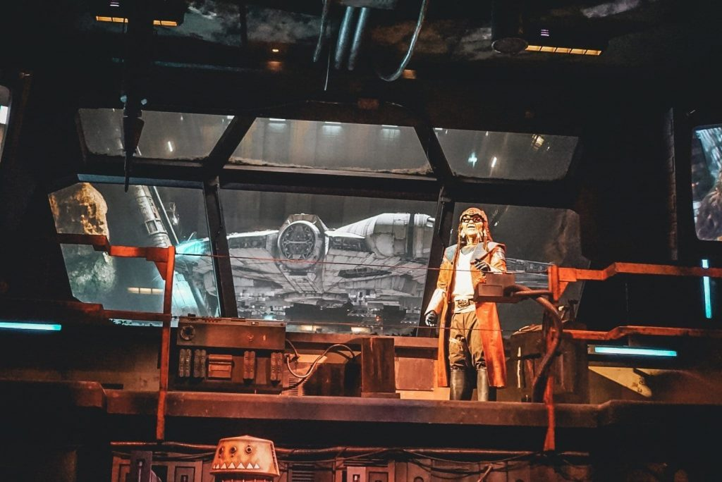 Star Wars Land - Smugglers Run