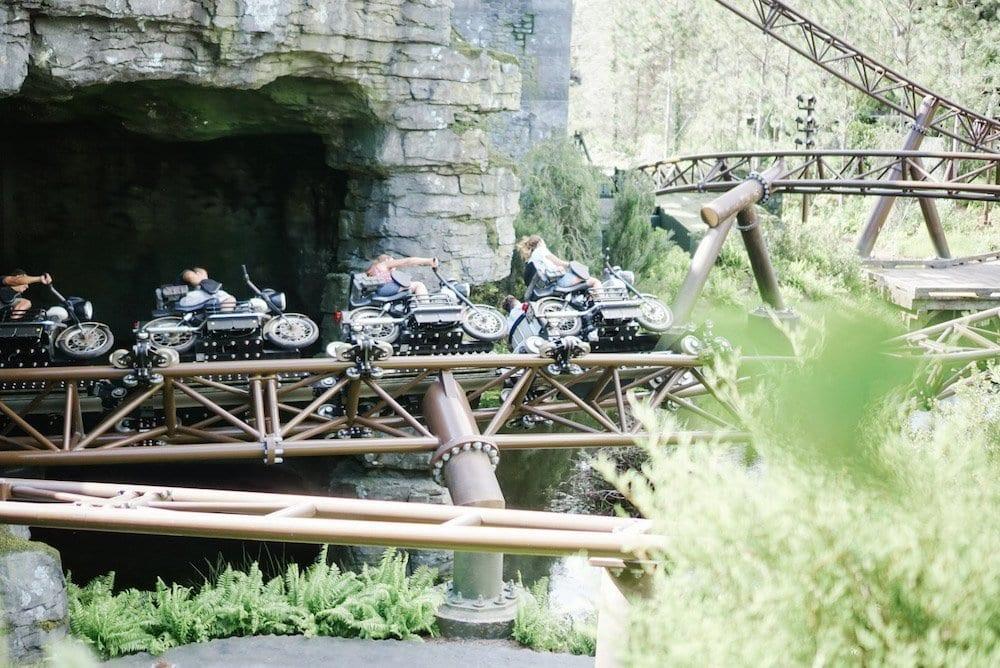 Hagrid's Motor Bike Adventure - Islands of Adventure