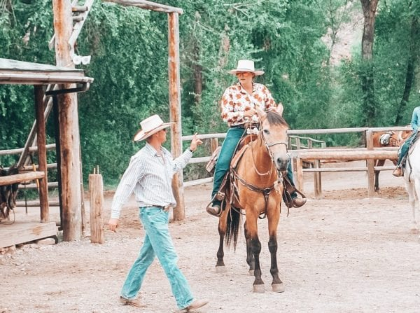 dude ranch vacation