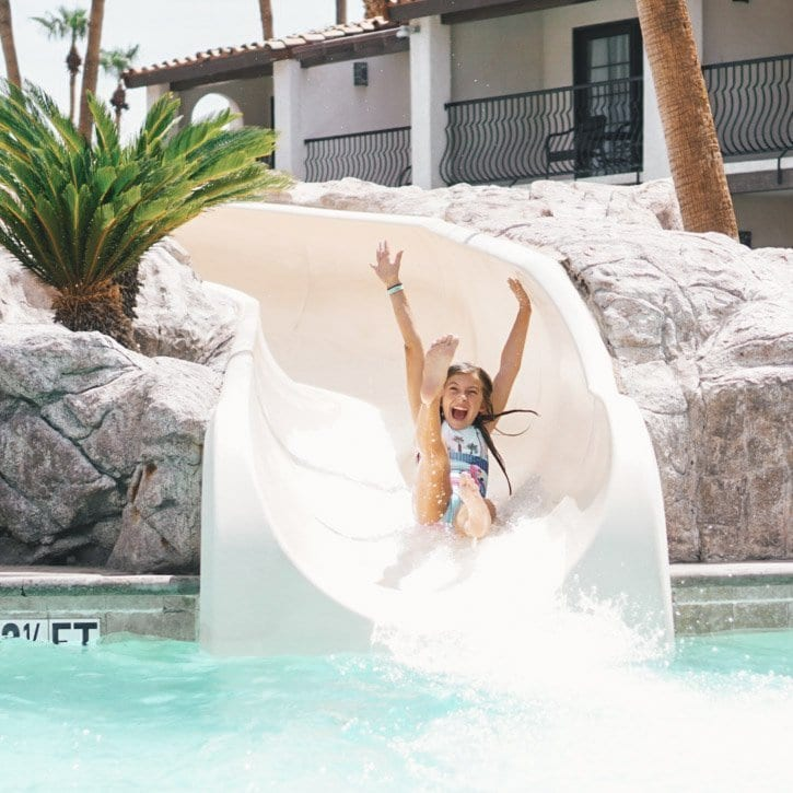 where to stay in palm springs with kids - rancho las palmas