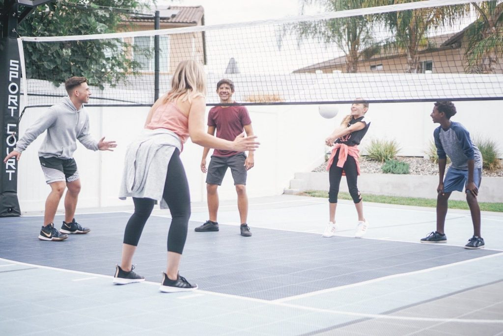 How Our Sport Court Backyard Court Helped Us Have The  Best Summer EVER!