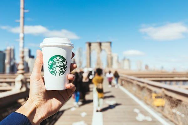 Starbucks Brooklyn Bridge