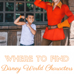 Where to find your favorite disney world character