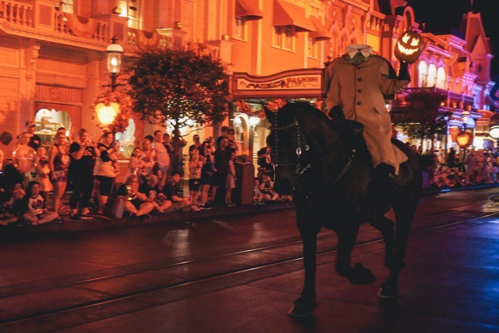 Headless Horsemen at Mickeys Not SO Scary Halloween Party