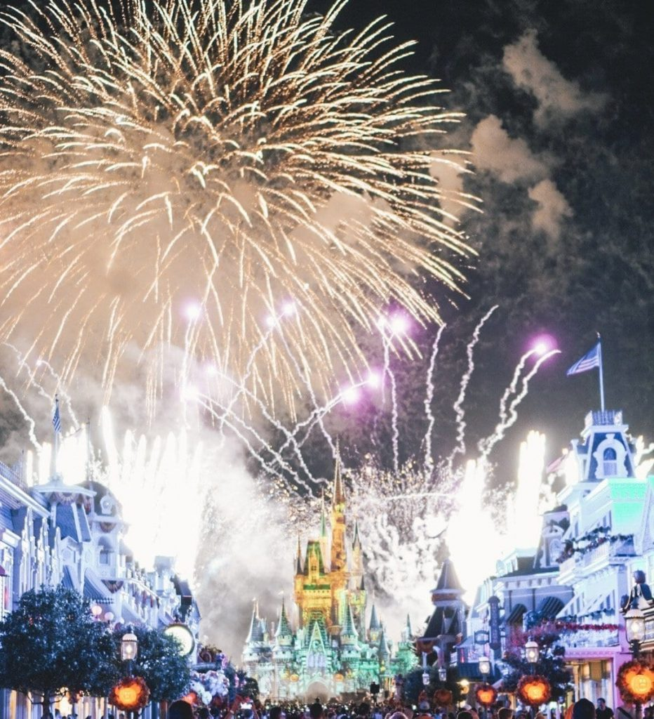 Mickey's Not so Scary Fireworks Show