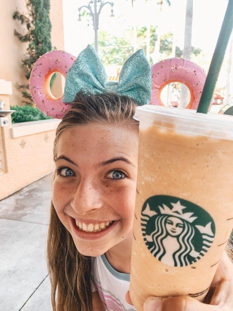 Disney Free Dining Starbucks