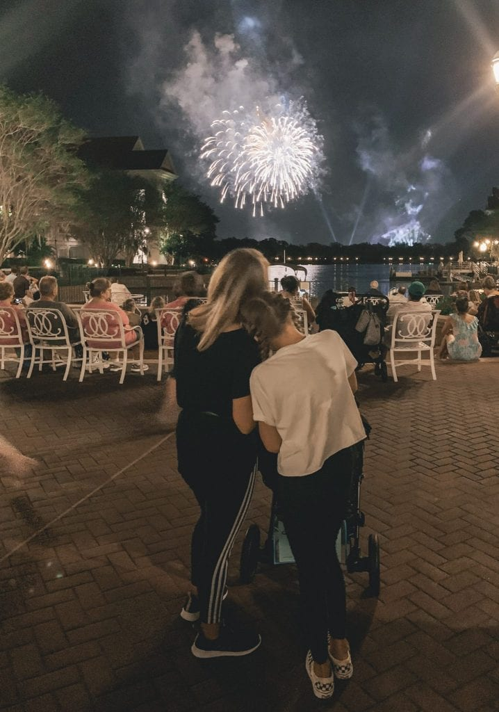 Grand Floridian Fireworks View