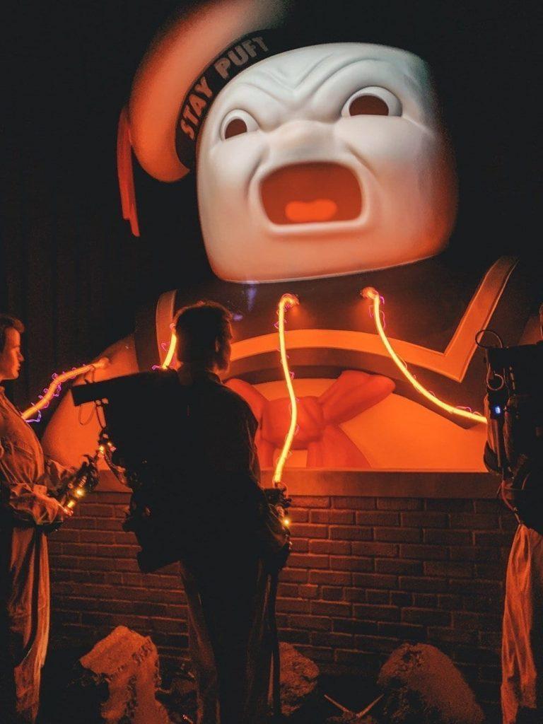 Ghostbusters Universal Halloween Horror Nights