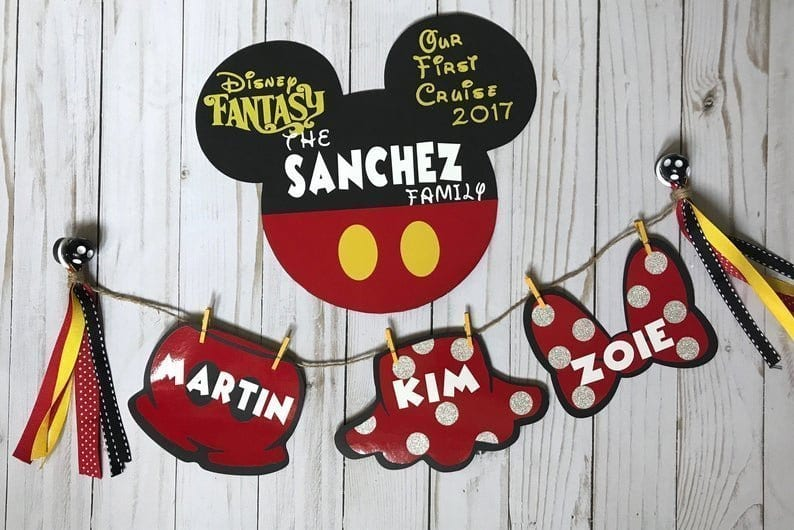 Disney Cruise Door Decorations - Family Magnet