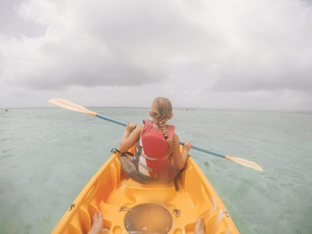 Kayaking in Wailea