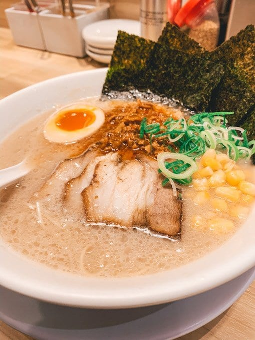 atm ramen tokyo tower - things to do in tokyo with kids