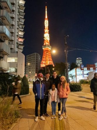 tokyo tower - things to do in tokyo with kids