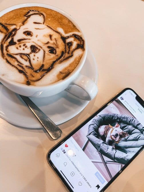 things to do in tokyo - 3d latte art
