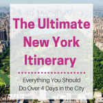 The Ultimate New York Itinerary