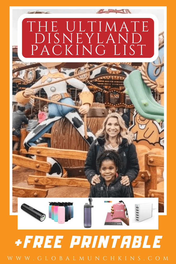 We've created the Ultimate Disneyland Packing List to save you time and money while visiting the Disneyland Resort.