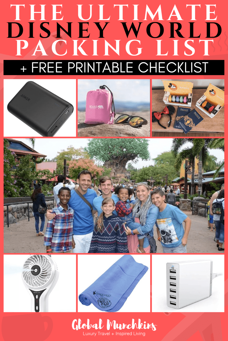 we have created the Ultimate Disney World Packing List to help you save time and money while at the parks! With this list, you'll be set to have a blast.