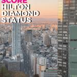 Hilton Diamond Status