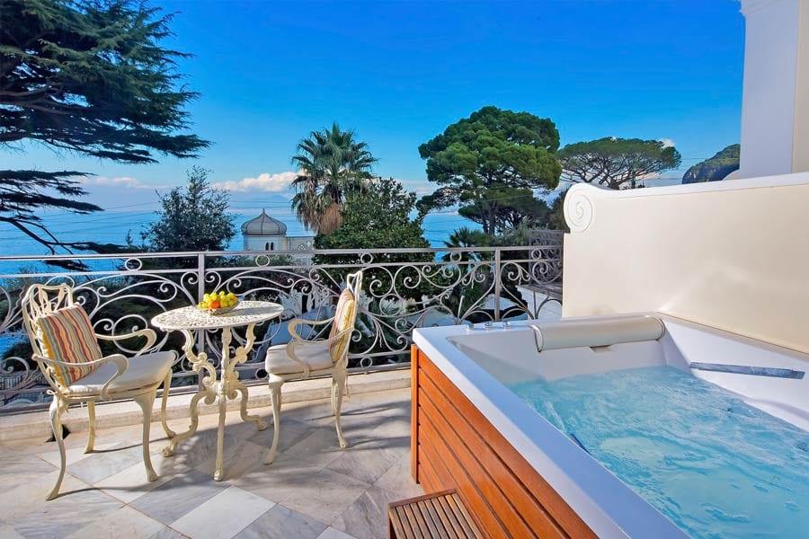 best hotel in capri