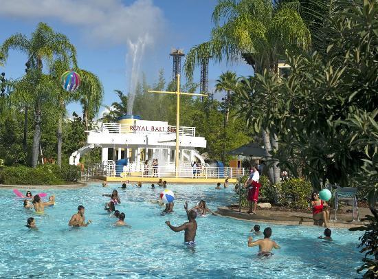 Best Resort Pools - Loews Royal Pacific