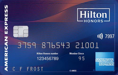 Hilton Diamond Status with Hilton Aspire Card