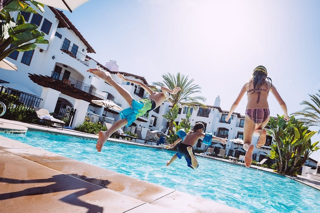 best resort pools for families