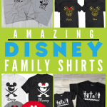 17 Disney Matching Family Shirts that are so fun + 3 Weird Ones! You have to see them! Here are shirts for every type of family, even for those who refuse to match. #disneyfamily #disney #disneytravel #traveltips #disneytips