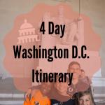 4 Day Washington D.C. Itinerary