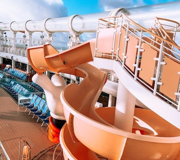 Disney Cruise Slides