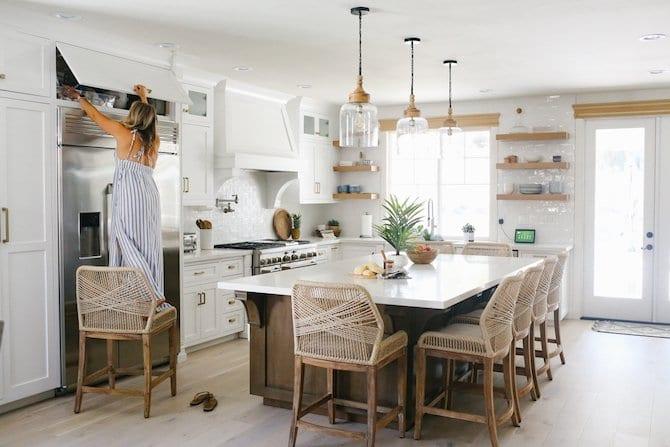 Gorgeous White Custom Kitche, Coastal Kitchen, Home Decor, Interior design