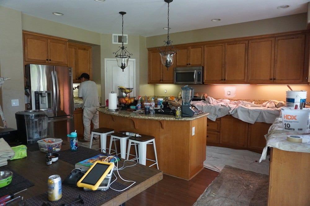 kitchen before, kitchen remodel