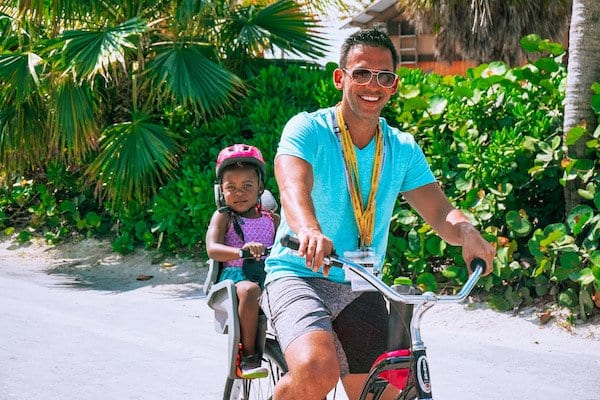 Castaway Cay Activities - Bike RIde