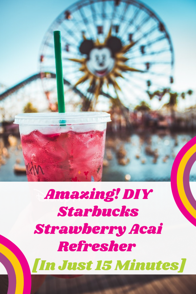 Starbucks Strawberry Acai Refreshe