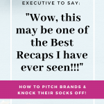 How to Pitch Brands