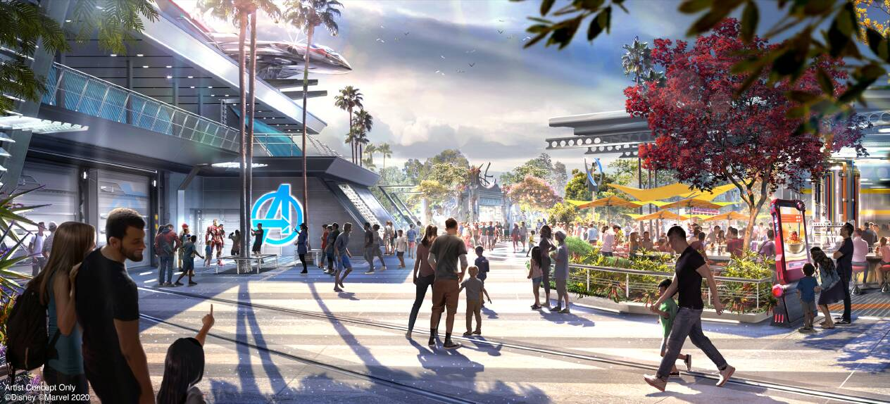 EVERYTHING You Want To Know - NEW Avengers Campus at ...
