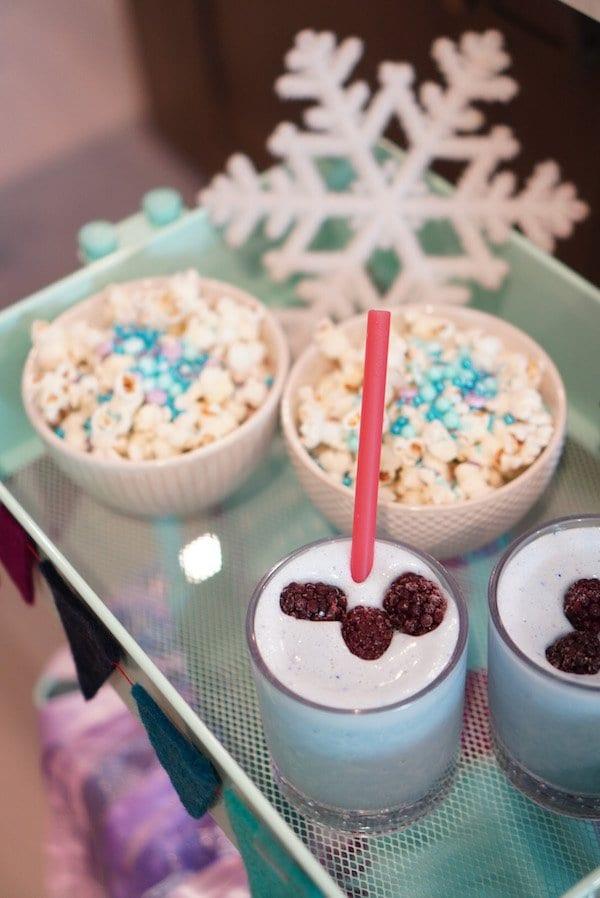 Frozen Dessert Bar - Disney Magic Moments
