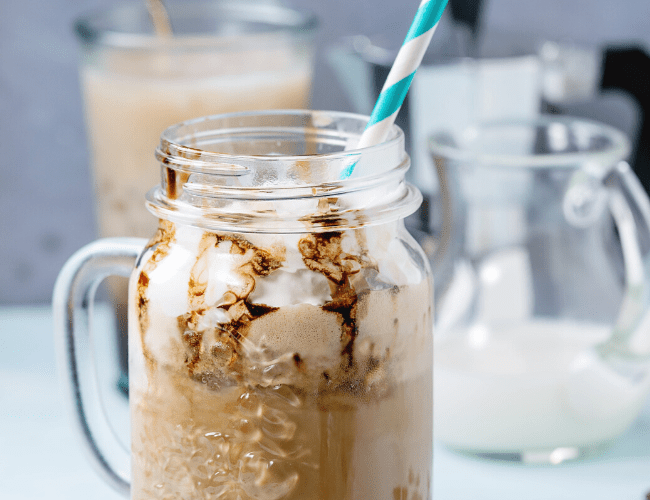 DIY Starbucks White Chocolate Mocha Frappuccino