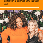 I met Oprah- she taught me her best goal-smashing secrets!
