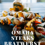 Omaha Steaks Bratwurst Skewers