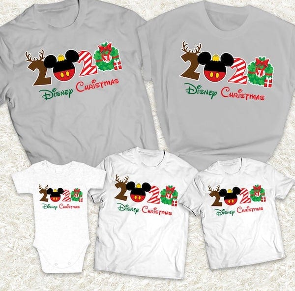 Disney Family Christmas Shirt Ideas